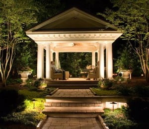 Landscape Lighting Installation Company | Kentucky Lawn Care